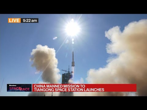 Download China Sends 3 Men Into Space