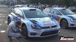 WRC Rally Finland Shakedown Laajavuori 2014