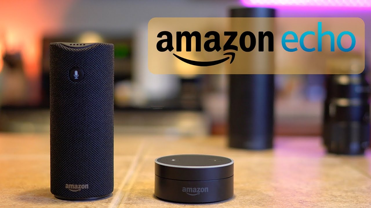 Amazon Tap And Echo Dot Overview  Amazon Alexa Home Automation