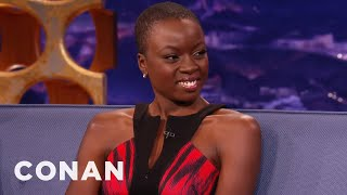 Danai Gurira Keeps Her Swords In Her Car Trunk