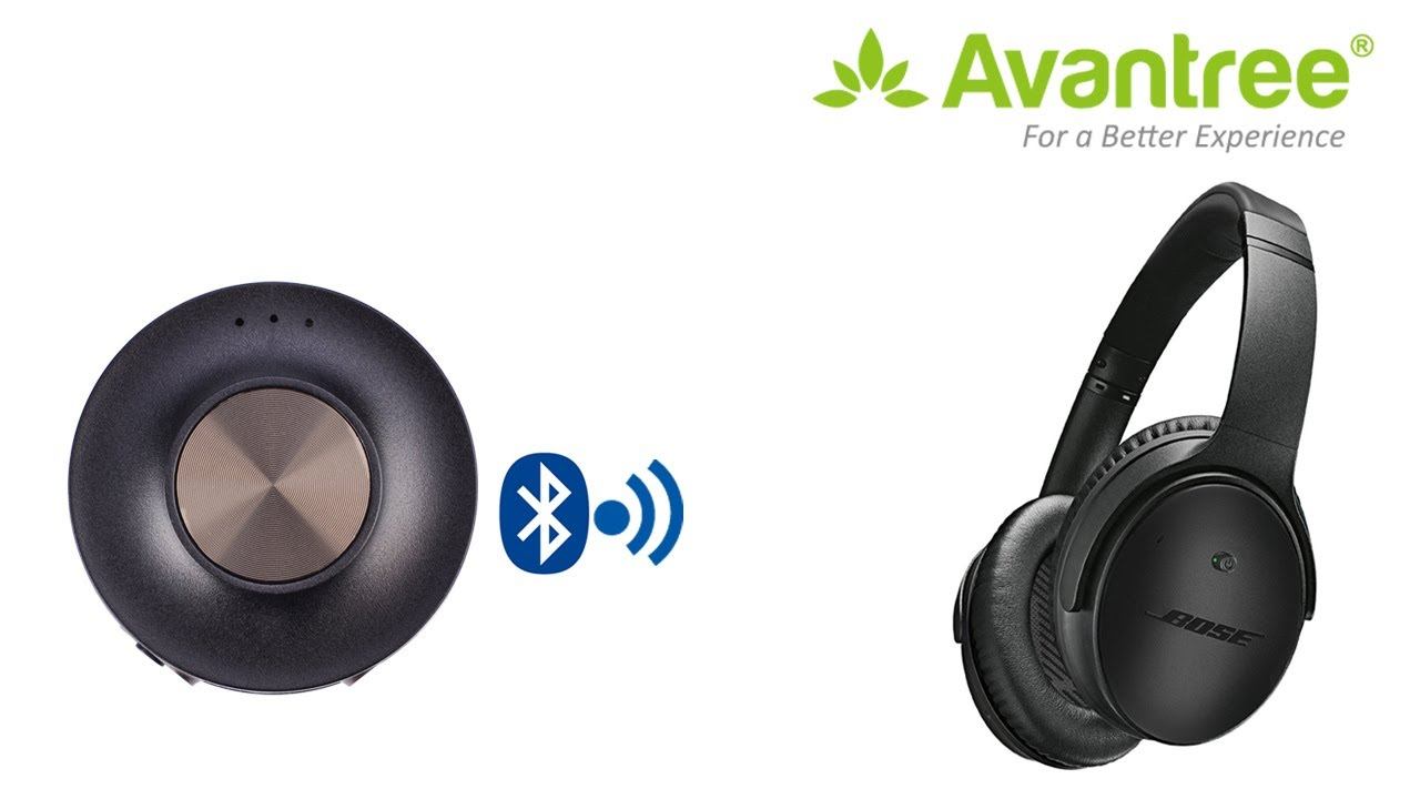 How to pair and connect Dual Link aptX Low Latency Bluetooth transmitter  Priva III with Bose QC35?