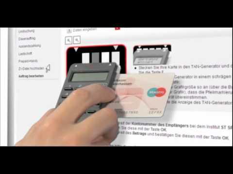 Sparkasse Neuss überweisung Mit Chiptan Optisches Verfahren