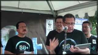 Ini Aksiku - Press Conference Earth Hour Indonesia 2012