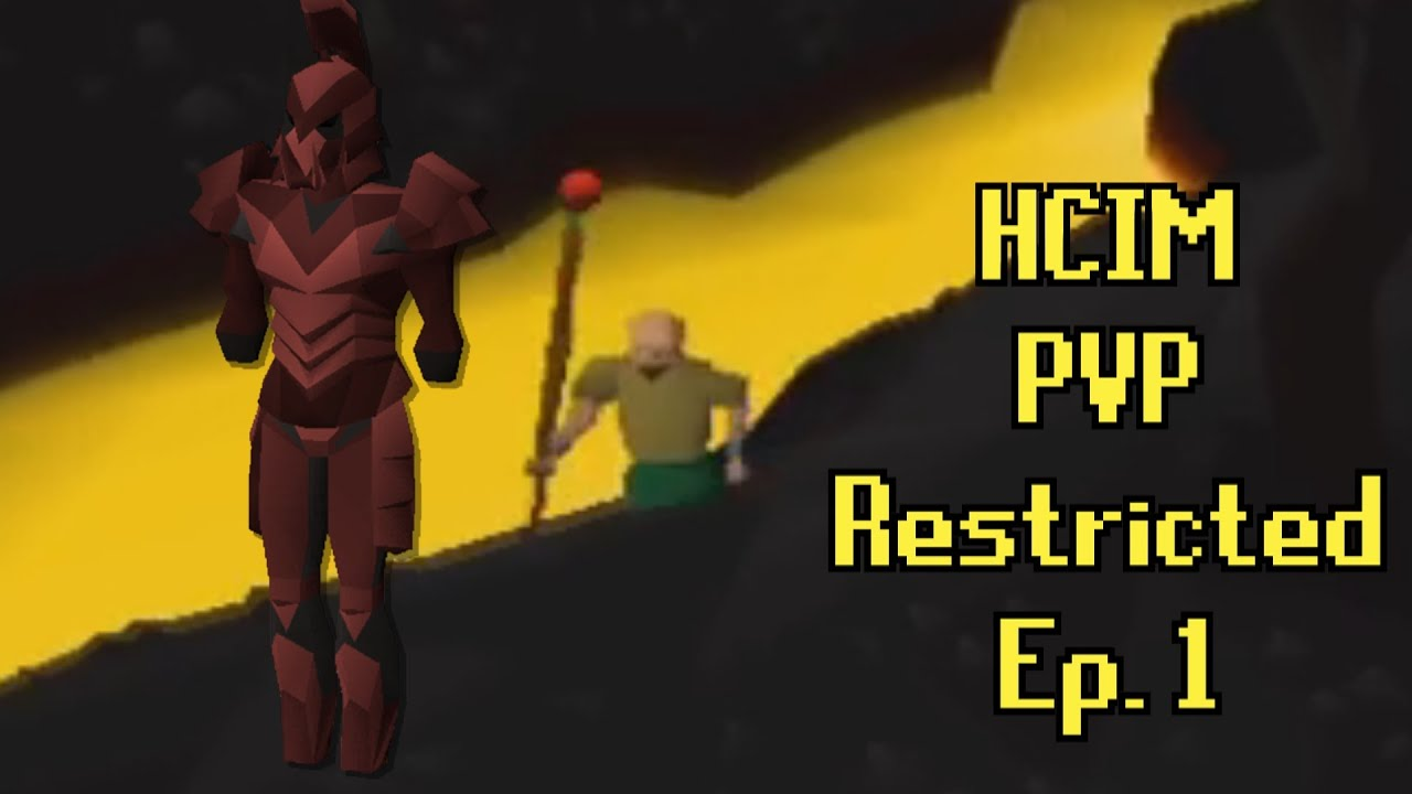 I Went to Lava Dragons on my HCIM - OldSchool Runescape Hardcore Ironman Restricted to PVP Worlds