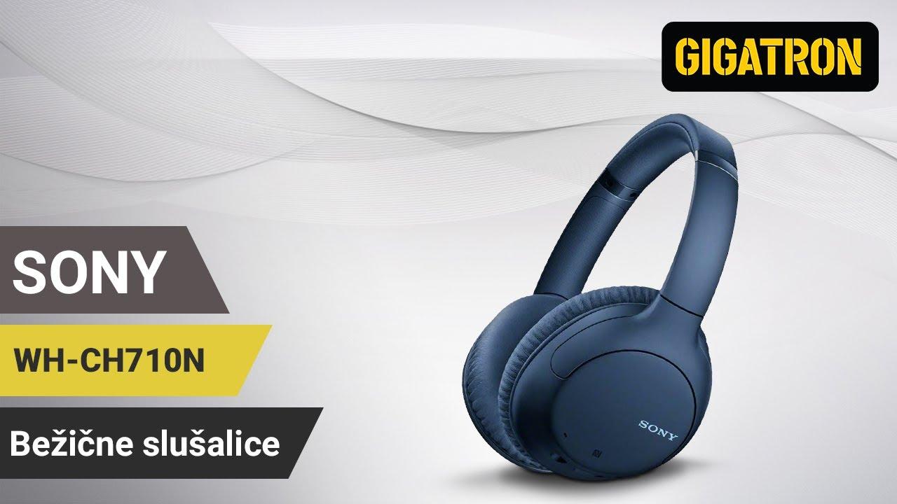 Do 35 sati slušanja audio zapisa sa jednim punjenjem uz Sony WH-CH710NL bežične slušalice