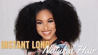 LONG NATURAL HAIR?! INSTANTLY | HerGivenHair x BeautyByCarla