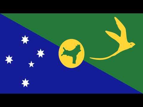 Bandera e Himno de Isla de Navidad (Australia) - Flag and Anthem of Christmas Island (Australia)