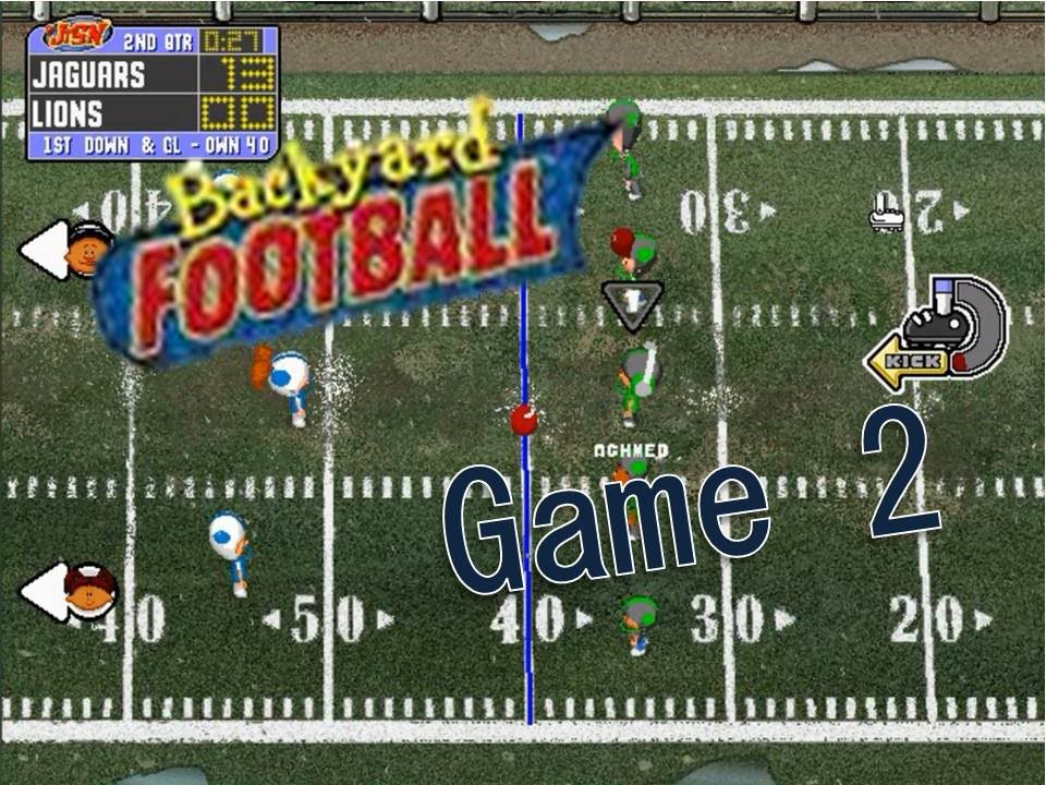 backyard football 1999 pc game 2 who 39 s the king of the jungle