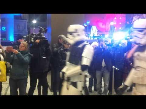 Star Wars Premiere in Berlin Aufmarsch
