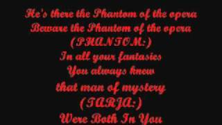 Nightwish - The Phantom of The Opera (Lyrics)