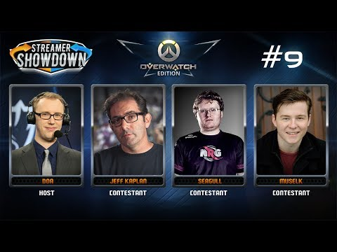 Streamer Showdown #9 Overwatch Anniversary feat. Jeff Kaplan, Seagull, Muselk, & Doa)
