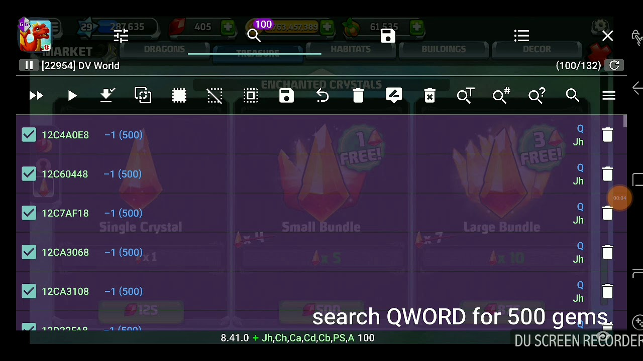 DRAGONVALE WORLD GAMEGUARDIAN HACK ROOT ONLY 2017
