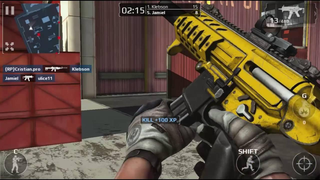 Modern Combat 5 PC Gameplay