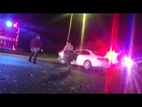 Crash between suspected drunk driver, deputy sends 3 to hospital