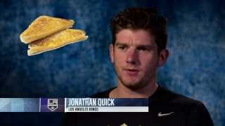 NHL players on the strangest thing they