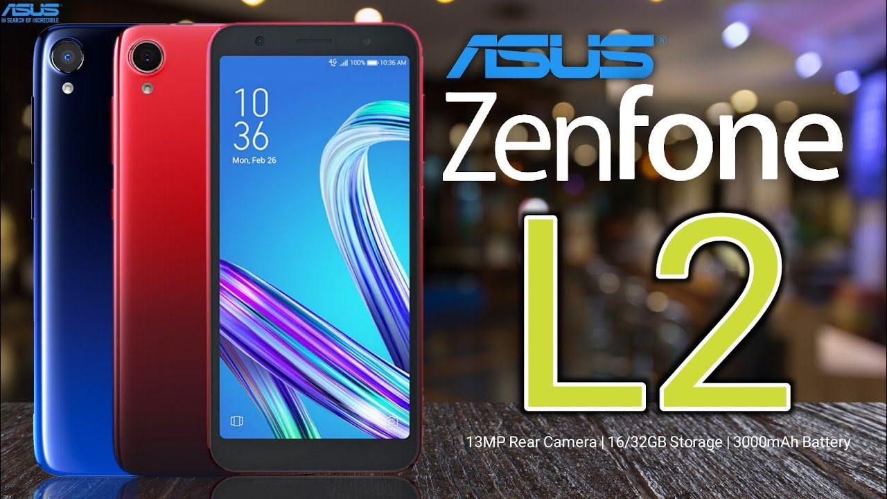 Asus Zenfone Live (L2) Trailer