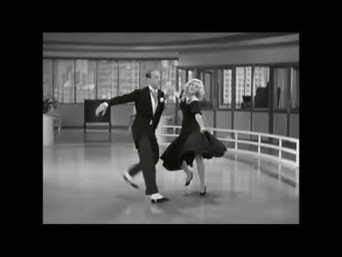 Tap Dancers Tapdancing Ginger Rogers Fred Astaire Swing Time 1936 Pick Yourself Up Youtube