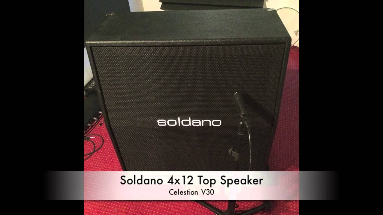 Lasse Lammert Cab Comparison 2016: Soldano 412, Top Speaker (see ...