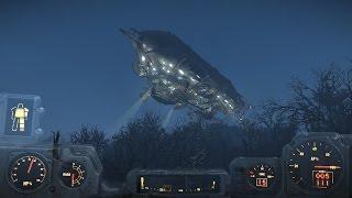 Fallout 4 - подъем на Придвен Дирижабль Братства Стали