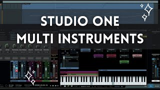 Studio One 3 - Multi Instrument Demo