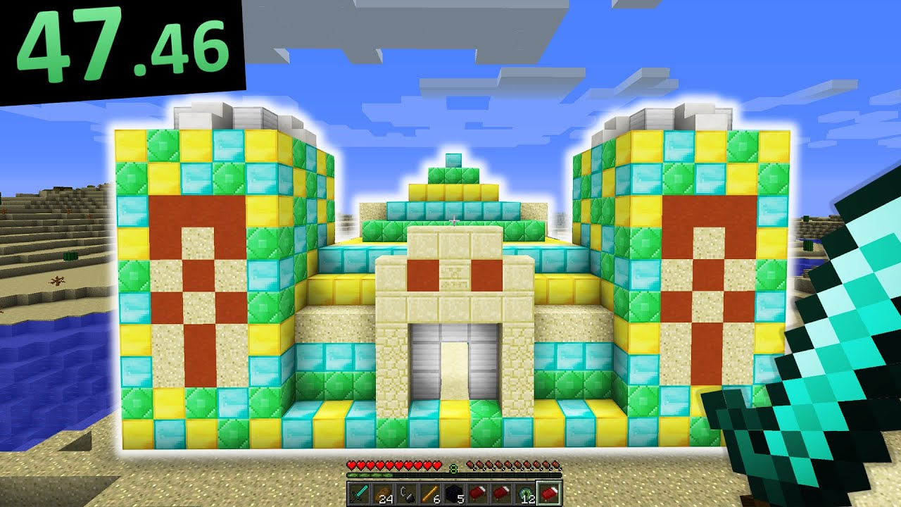 Download Submitting a RIDICULOUSLY FAKE Minecraft SPEEDRUN...