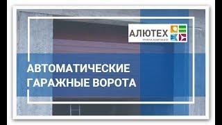 Автоматические секционные ворота Alutech™ 3200х2800 с электроприводом AN-Motors