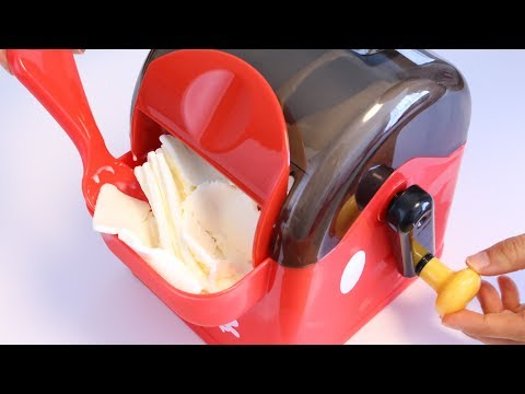 Mickey Mouse Rolling Ice Cream Maker【Kawaii Cooking Toy】
