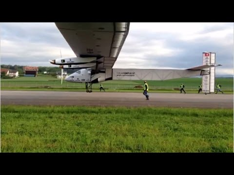 Solar powered planes: around the globe with no fuel