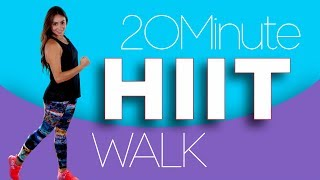 Torch those calories with this 20 Minute HIIT Walk!