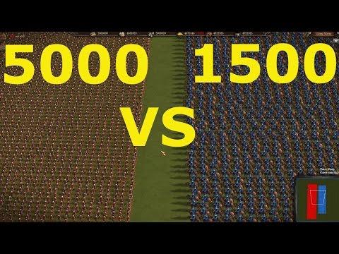 Cossacks 3: 5000 Musketeers VS 1500...