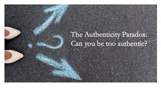 Authenticity paradox testimonials