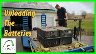 8 Junkyard Electric Truck: Unloading the Batteries