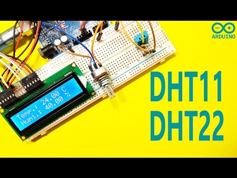 DHT11 And DHT22 Sensor Using With Arduino