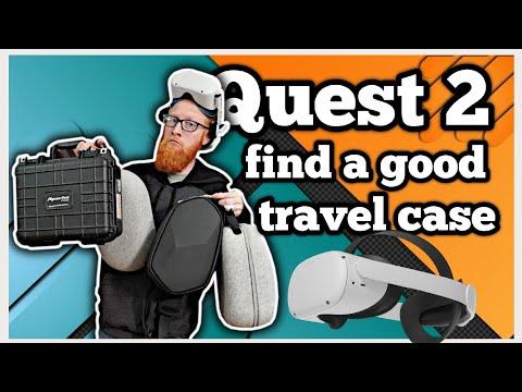 QUEST 2 Trouver un bon étui de transport (VR Vlog)