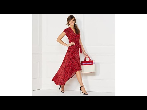 8f3ecbc3a93 IMAN Global Chic Luxury Resort Maxi with HiLow Hem - YouTube