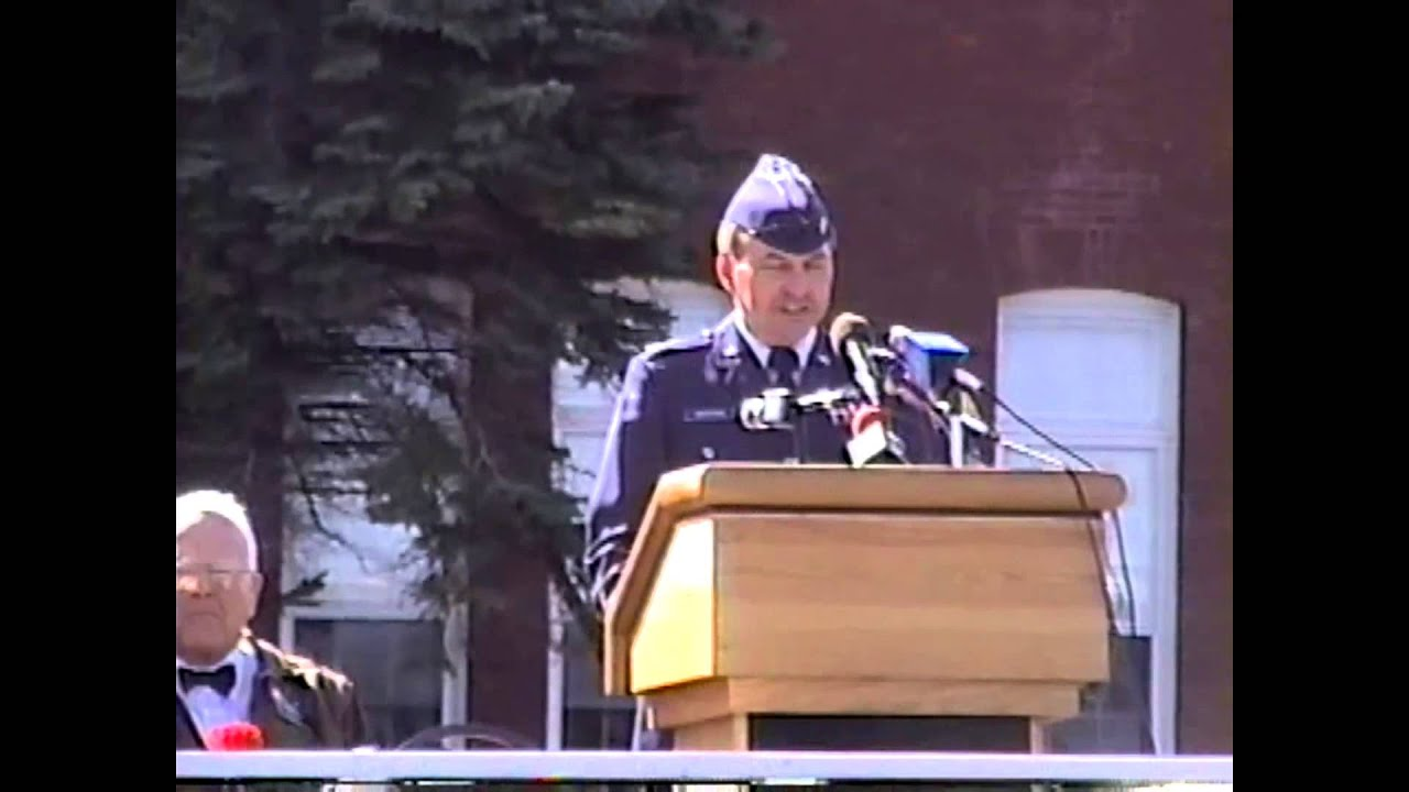 PAFB Closure Ceremony  9-29-95