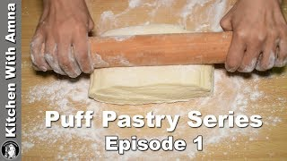 Cheapest Puff Pastry Dough Without Butter - Puff Pastry Episode 1 - Kitchen With Amna