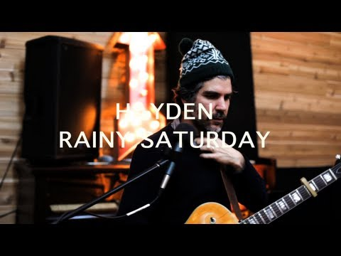 Hayden - Rainy Saturday [Official Video]
