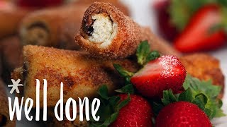 How to Make Nutella French Toast Rolls | Recipe | Well Done