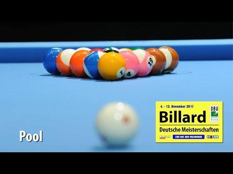 Livestream Pool - Deutsche Meisterschaften 2017 Tag 6 powered by REELIVE & Touch