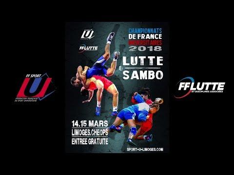 Paris Lutte Olympique @ Championnats de France Universitaires de Lutte & Sambo 2018
