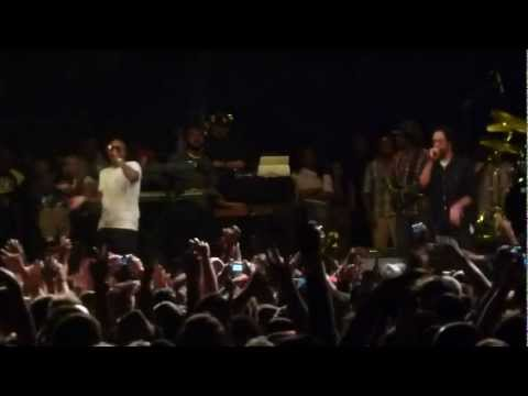 Nas & Damian Marley - Could You Be Loved - Live At Central Park NYC Summer Stage 08.11.2011