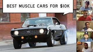 homepage tile video photo for Best Muscle Cars for $10K: Window Shop with Car and Driver