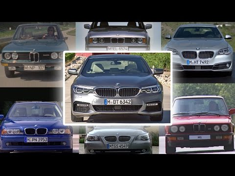 Seven Generations of BMW 5 Series
