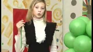 Твистинг, аэродизайн  для детей(елка из круглых шаров)