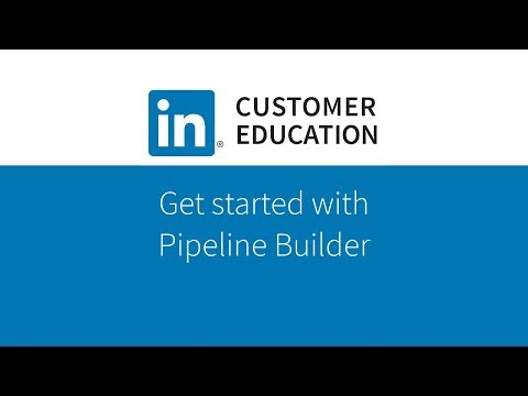 Get Started with Pipeline Builder