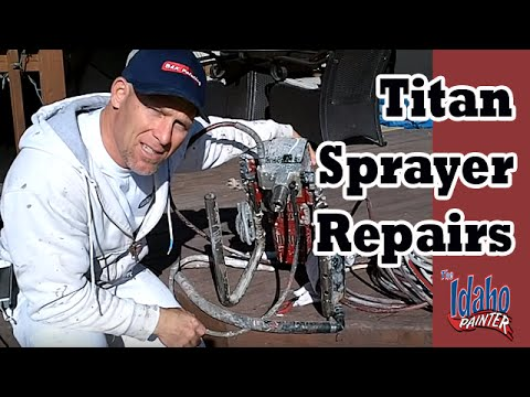 How To Fix An Airless Sprayer That Is Not Priming.