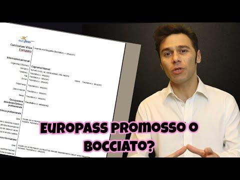 CV Europass, Usarlo O Accantonarlo? [Diego Maria Ierna]