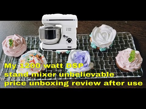 My 1200 watt DSP stand mixer unbelievable price unboxing review after use from YouTube · Duration:  1 minutes 46 seconds