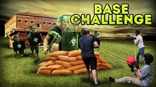 zombie base vs catapult challenge real life challenges